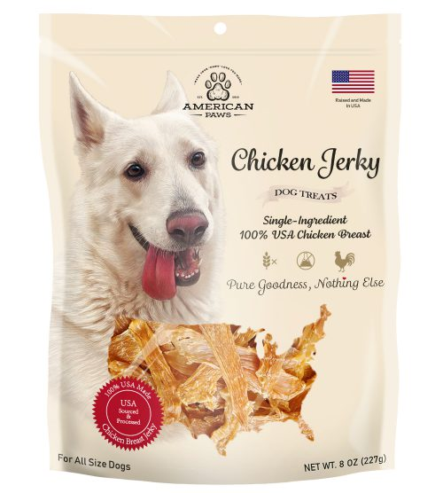 dog chicken jerky