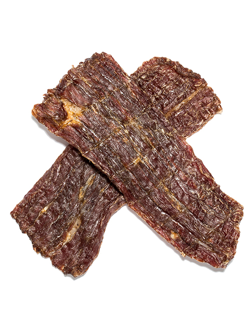 beef jerky for dog